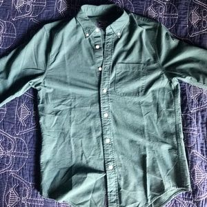 Abercrombie and Fitch Hunter Green Button-Down M